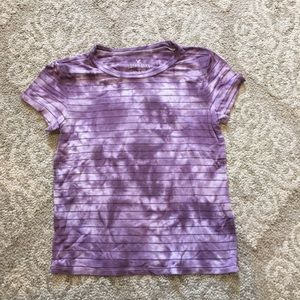 American Eagle purple t-shirt